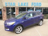 2014 Deep Impact Blue Ford Escape Titanium 2.0L EcoBoost 4WD #91776886