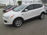 2014 White Platinum Ford Escape Titanium 1.6L EcoBoost #91810974