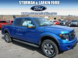 2014 Blue Flame Ford F150 FX4 SuperCrew 4x4 #91811044