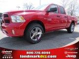 2014 Flame Red Ram 1500 Express Quad Cab #91811125