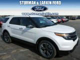 2014 White Platinum Ford Explorer Sport 4WD #91811043