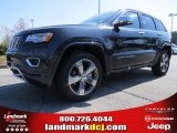 2014 Maximum Steel Metallic Jeep Grand Cherokee Overland #91811108
