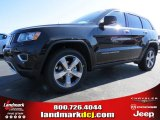 2014 Brilliant Black Crystal Pearl Jeep Grand Cherokee Limited #91811107