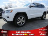 2014 Bright White Jeep Grand Cherokee Limited #91811106