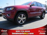 2014 Deep Cherry Red Crystal Pearl Jeep Grand Cherokee Limited #91811105