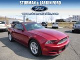 2014 Ruby Red Ford Mustang V6 Convertible #91811056