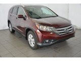 2014 Basque Red Pearl II Honda CR-V EX-L #91810920