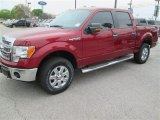 2014 Ruby Red Ford F150 XLT SuperCrew 4x4 #91810975