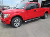 2014 Race Red Ford F150 STX SuperCab #91851436