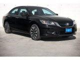 2014 Crystal Black Pearl Honda Accord Hybrid Sedan #91851597