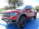 2014 Ruby Red Ford F150 SVT Raptor SuperCrew 4x4 #91851527