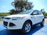 2014 Oxford White Ford Escape SE 2.0L EcoBoost #91851526