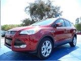2014 Ruby Red Ford Escape Titanium 1.6L EcoBoost #91851518