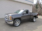 2014 Tungsten Metallic Chevrolet Silverado 1500 LT Regular Cab 4x4 #91851500
