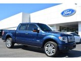 2014 Blue Jeans Ford F150 Limited SuperCrew 4x4 #91851581