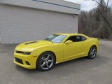 2014 Bright Yellow Chevrolet Camaro SS/RS Coupe #91851499