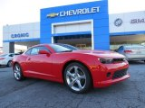 2014 Red Hot Chevrolet Camaro LT Coupe #91851741