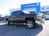 2014 Tungsten Metallic Chevrolet Silverado 1500 LT Crew Cab 4x4 #91851739