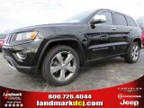 2014 Brilliant Black Crystal Pearl Jeep Grand Cherokee Limited #91893364