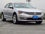 2014 Reflex Silver Metallic Volkswagen Passat 1.8T SEL Premium #91893769
