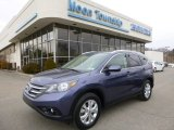 2012 Twilight Blue Metallic Honda CR-V EX-L 4WD #91893450