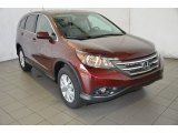 2014 Basque Red Pearl II Honda CR-V EX #91893171