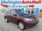 2012 Basque Red Pearl II Honda CR-V EX 4WD #91893334