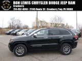 2014 Brilliant Black Crystal Pearl Jeep Grand Cherokee Limited 4x4 #91893308