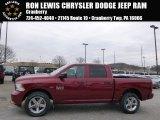 2014 Deep Cherry Red Crystal Pearl Ram 1500 Express Crew Cab 4x4 #91893301