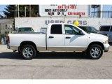 2004 Bright White Dodge Ram 1500 SLT Quad Cab 4x4 #91893203