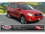 2011 Barcelona Red Metallic Toyota RAV4 V6 Sport 4WD #91942587