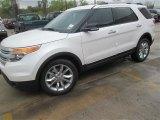 2014 White Platinum Ford Explorer XLT #91942733