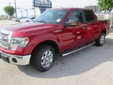2014 Ruby Red Ford F150 XLT SuperCrew #91942730