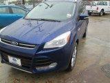 2014 Deep Impact Blue Ford Escape Titanium 1.6L EcoBoost #91942726