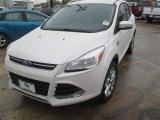 2014 White Platinum Ford Escape Titanium 1.6L EcoBoost #91942724