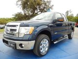 2014 Blue Jeans Ford F150 XLT SuperCab #91942821