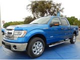 2014 Blue Flame Ford F150 XLT SuperCrew #91942820