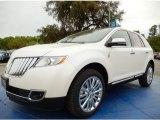 2014 White Platinum Metallic Tri-Coat Lincoln MKX FWD #91942811