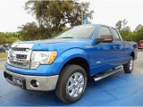2014 Blue Flame Ford F150 XLT SuperCab #91942807