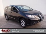 2012 Crystal Black Pearl Honda CR-V LX #91942954