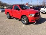 2012 Flame Red Dodge Ram 1500 Express Regular Cab 4x4 #91983042