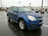 2010 Navy Blue Metallic Chevrolet Equinox LT AWD #91983108