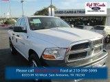 2012 Bright White Dodge Ram 1500 ST Quad Cab 4x4 #91982886