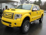 2014 Ford F150 Tonka Edition Iconic Yellow
