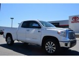 2014 Super White Toyota Tundra Limited Double Cab #92008456
