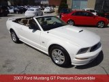 2007 Performance White Ford Mustang GT Premium Convertible #92008515