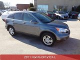 2011 Polished Metal Metallic Honda CR-V EX-L 4WD #92008511