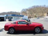 2011 Red Candy Metallic Ford Mustang V6 Premium Coupe #92008381