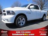 2014 Bright White Ram 1500 Sport Quad Cab #92008428