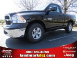 2014 Black Ram 1500 Tradesman Regular Cab #92008427
